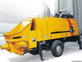 Trailer Mounted Concrete Line Pump
