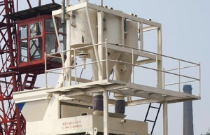 weighting system of mixer