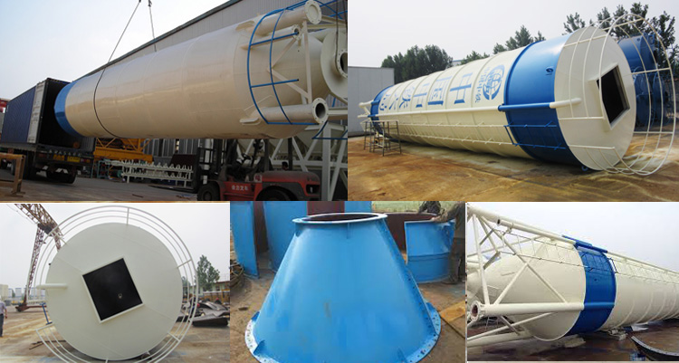 Welded-Cement-Silo-Factory