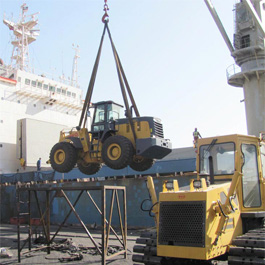 One-unit-of-ZL50--big-wheel-loader-was-exported-to-Bangladesh